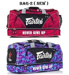 a8da997d1238 Details about NEW FAIRTEX GYM BAG CARRY BAG2 CAMO GEAR EQUIPMENT MUAY THAI  BOXING SHOULDER BAG
