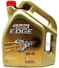 CASTROL EDGE FST 5w-40 olio motore 5 L VW 502 00 505 00 MB 229.31 229.51 Longlife - 04