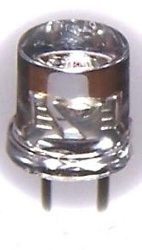 50x rote 5mm Flat Top LED 1200mcd 80°