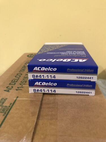 8-pc AC DELCO IRIDIUM SPARK PLUGS 41-114 12622441