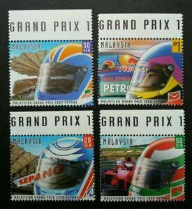 SJ-Malaysia-Grand-Prix-1999-Sepang-Sport-Car-Circuit-F1-stamp-title-MNH