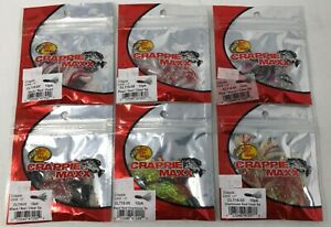 PRO CRAPPIE TUBES LURES GRUBS BASS PERCH 50 PACK #40