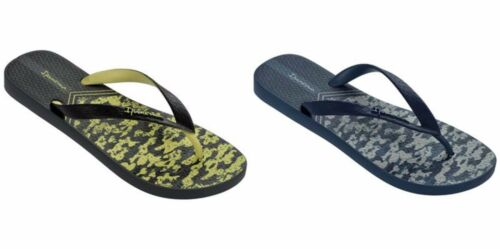 Ipanema Parati II Mens Flip Flops Black and Navy