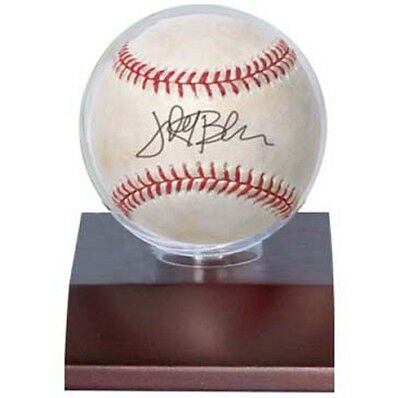 4 Ultra Pro Dark Wood Baseball Ball Storage Holders Display Case Fast Color Autographs-original Display Cases