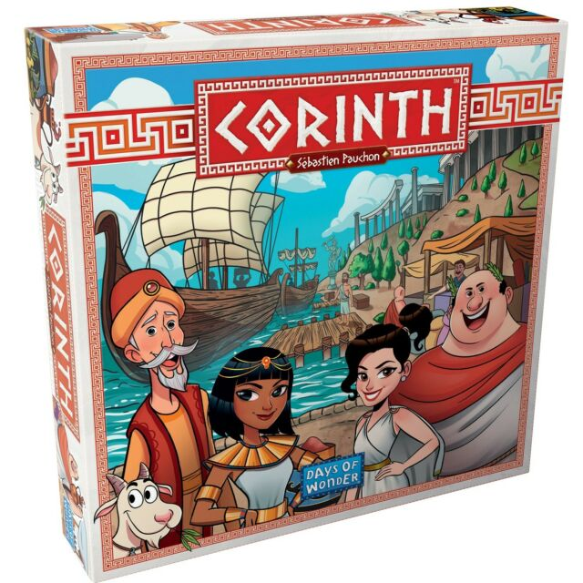 Days of Wonder, Corinth Board Game (Multilingual), New and Sealed