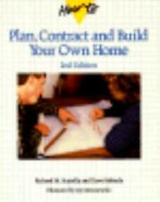 How to Plan, Contract and Build Your Own Home by Richard M. Scutella and...