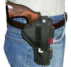 USA-Custom-Taurus-Judge-3-034-4510-Pistol-Holster-Hip-Belt-Holds-5-Rounds-45LC-410