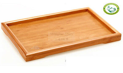 Bamboo Gongfu Tea Serving Tray Tabletop 295*190mm