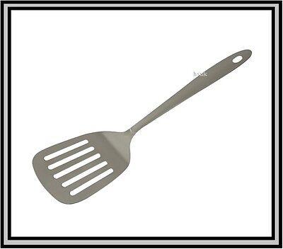 Samuel groves acier inoxydable poisson slice turner spatule heavy duty ustensile