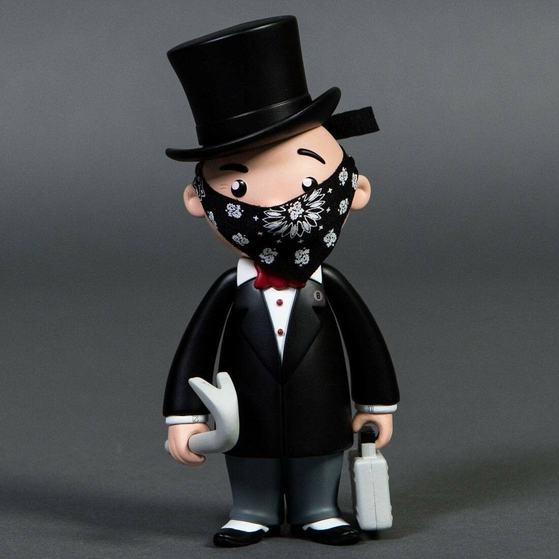 BAIT x Monopoly x Switch Collectibles Mr Pennybags 7 Inch Vinyl Figure - Standar