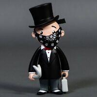 Bait X Monopoly Mr Pennybags 7 Inch Vinyl Figure Standard Edition Black