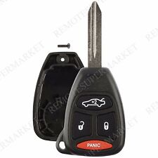 Replacement for Dodge 06-07 Charger 06-10 Durango Remote Key Fob Shell Pad Case
