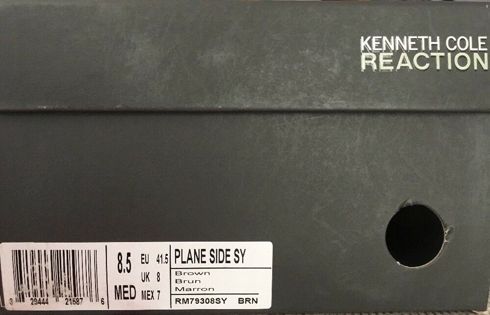 Kenneth Cole Uomo Plane Side Brown US 8.5 EU 41.5 STORE RM79308SY, NIB SHIP FROM STORE 41.5 a7b561