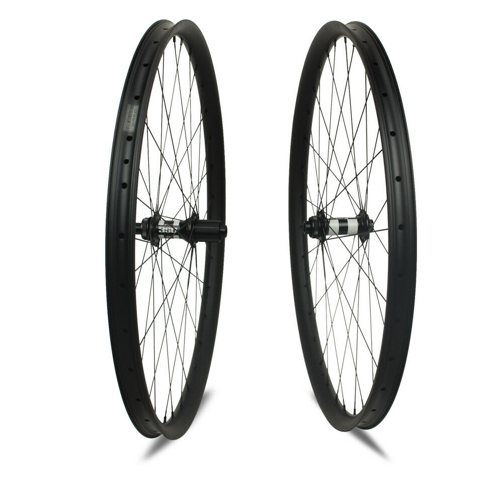 Full Carbon Fiber Bike MTB Wheels 27.5er  30mm Depth 40mm Width  na  on sale