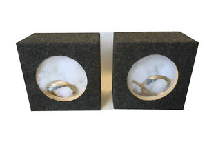"""Zenclosures 6.50"""" - 6.75"""" Speaker Box Boxes With/ 5.00"""" diameter mounting hole"""