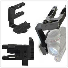 NEW Mini CNC Machined Bow Sight Mount Red Dot Laser Reflex Sight Scope Bracket