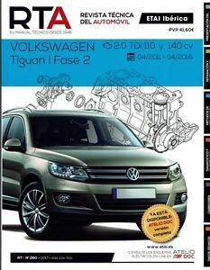 manual de taller mec nica volkswagen tiguan 2 0 tdi 2011 16 r260 rh ebay es manual instrucciones volkswagen tiguan manual instrucciones tiguan 2014