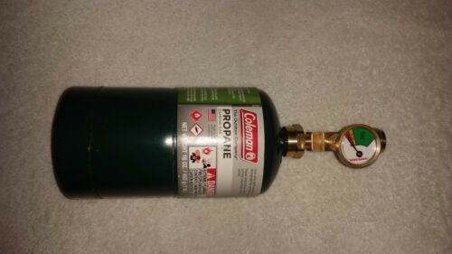 Disposable propane tank gauge see how full your 1# propane or Mapp tank is!