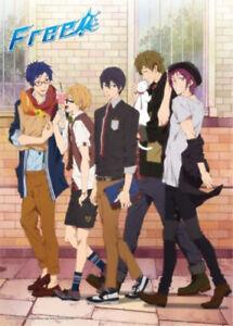 Free-Iwatobi-Swim-Club-Street-Clothes-300-Piece-Jigsaw-Puzzle-Anime-Manga-NEW