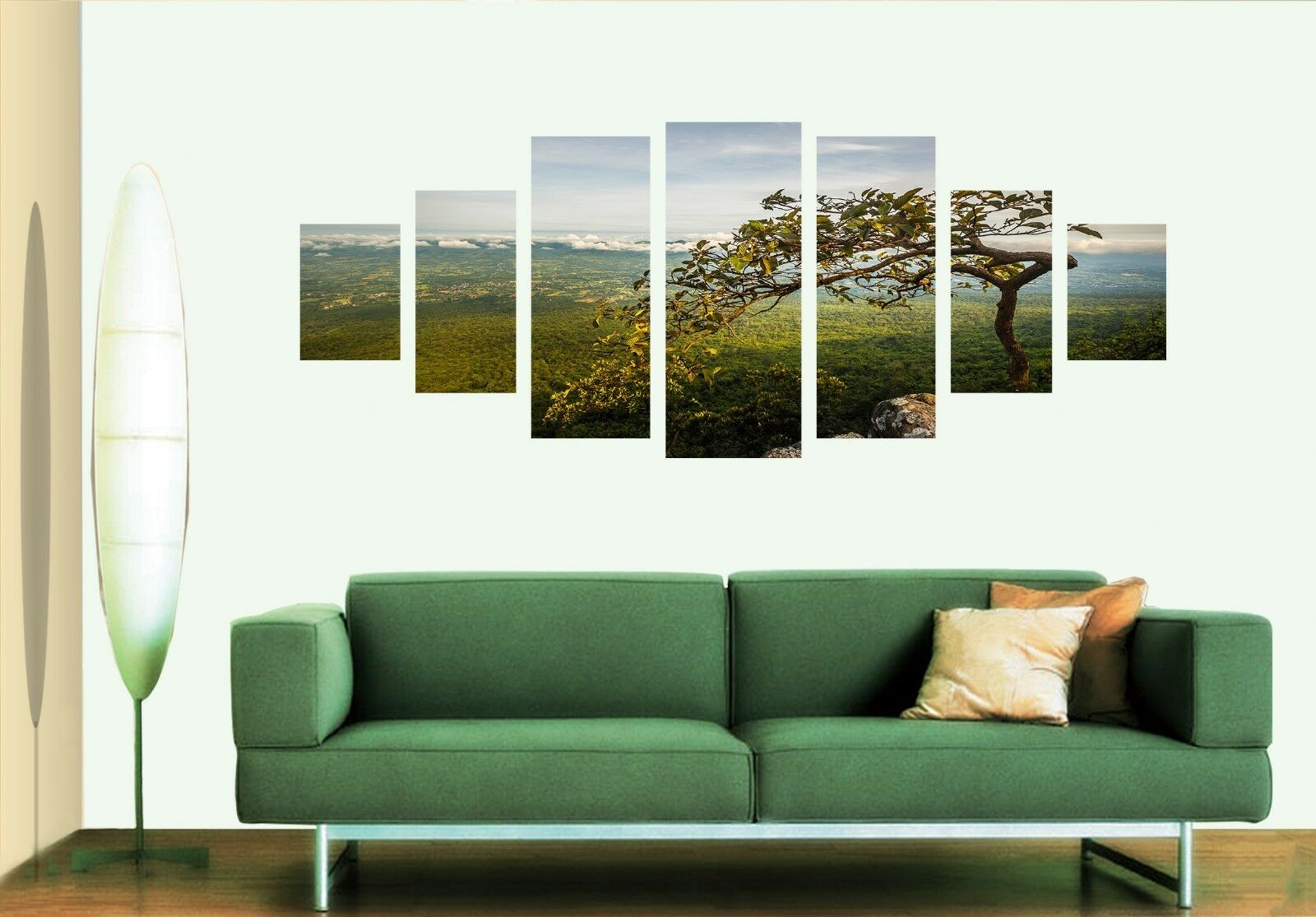 3D Tree Meadow 676 Unframed Print Wall Paper Decal Wall Deco Indoor AJ Wall