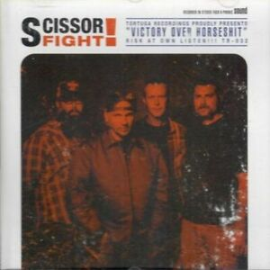 Scissorfight-CD-Album-Victory-Over-Horseshit-Tortuga-TR032-US