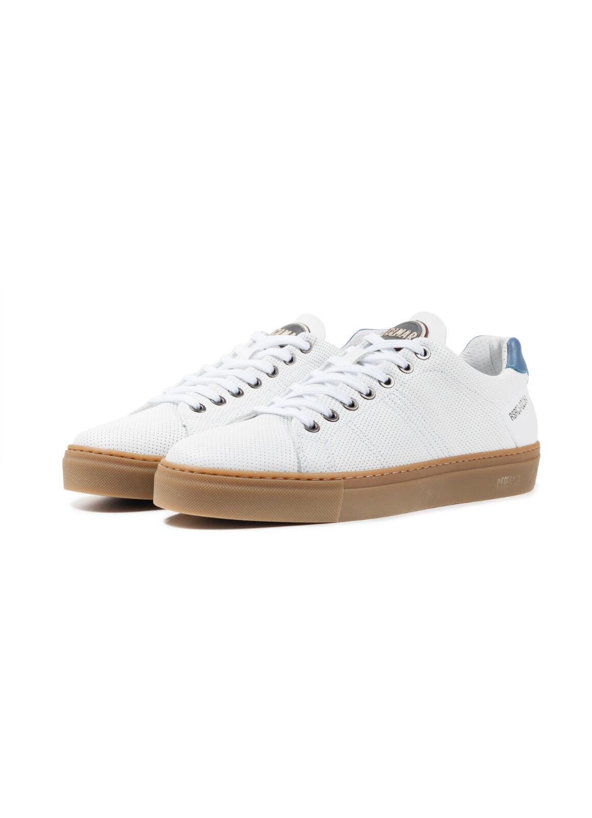 Sneakers Uomo COLMAR Bradbury Microforata Fresh 2018 Pelle Liscia Microforata Bradbury Scarpe NUOVE 99d637