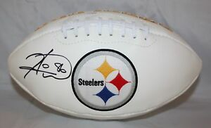 Hines-Ward-Autographed-Pittsburgh-Steelers-Logo-Football-JSA-W-Authenticated-L