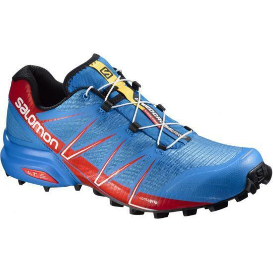 Scarpe Trail Running SALOMON SPEEDCROSS PRO EU 49 13 Bright blu Radiant rosso