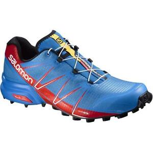 Trail Running Shoes SALOMON SPEEDCROSS PRO EU 49 1 3 Bright Blue ... ee64cceed3c