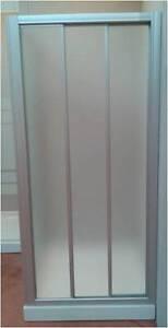 Puertas Correderas Mamparas De Ducha.Details Sur Mampara De Ducha Frontal En Vidrio Acrilico Prexiglas 3 Puertas Correderas