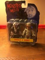 Monster Mez-itz Dracula & Mummy Universal Monster 2003 Mezco