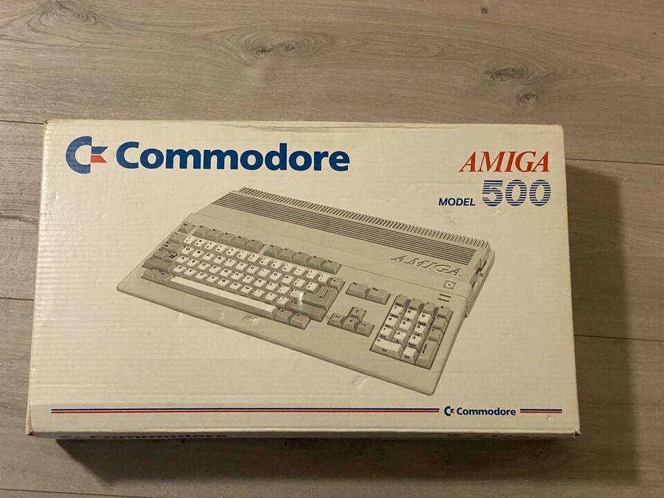 Commodore Amiga 500, spillekonsol