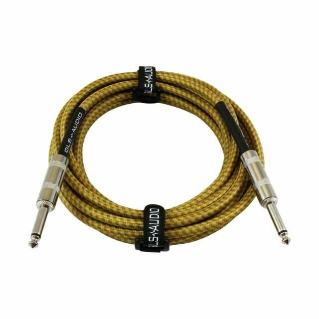 50Ft 1//4 Inch Male Male TRS Stereo Audio Cable Guitar Instrument Speaker PA v2