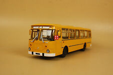 1/43 Russian Ussr Bus Liaz 677M 677 M bus diecast model car YELLOW COLOR