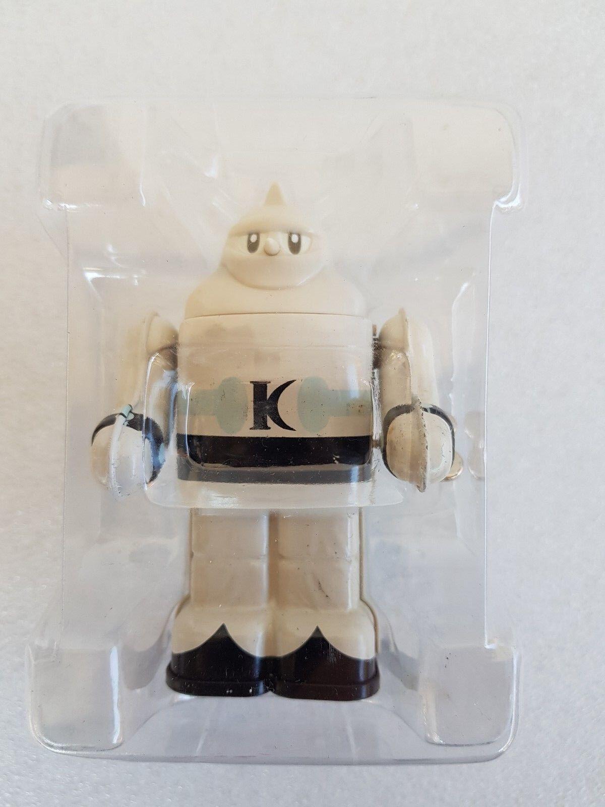 BANPRESTO 1998 White Gigantor (Tetsujin go-28) Wind-up Tin Toy (10 cm)