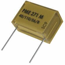 QTY .47uf 250Vac X2 SUPPRESSOR METALLIZED PAPER CAPACITORS PME271M647 RIFA 10