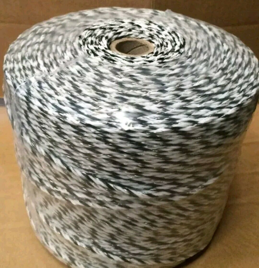 Poly Wire AKO 500m x 3mm 6 Stranded Electric Fence Poly Wire x 2 Rolls