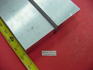 "2-1//2/"" X 2-1//2/"" ALUMINUM 6061 SQUARE BAR 4/"" long Solid T6511 Flat Mill Stock 2.5"