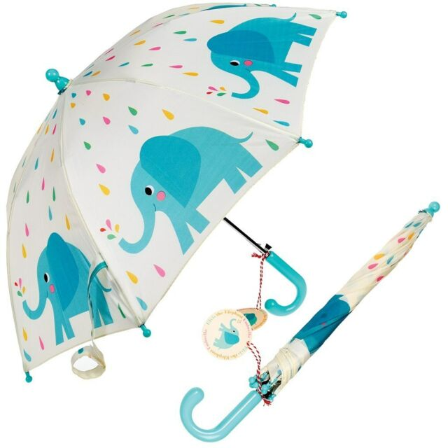 Rex London CHILDRENS UMBRELLA ELVIS THE ELEPHANT. KIDS GIRLS BOYS BROLLY
