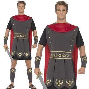 Hommes Romain Gladiateur Soldat Costume Déguisement par Smiffys   eBay b5195e1656e