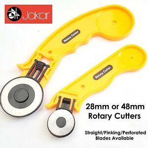 Jakar Rotante Cutter Quilters Tessuto Cucito Pelle Craft Vinile Carta 45mm 28mm