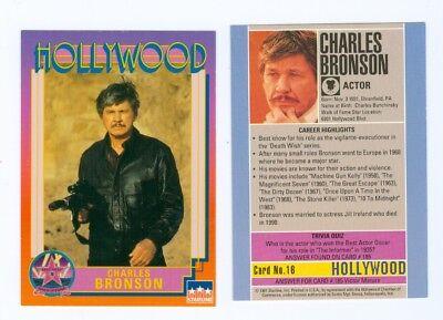 20 of same Charles Bronson Hollywood Walk of Fame card Starline #16 Death Wish
