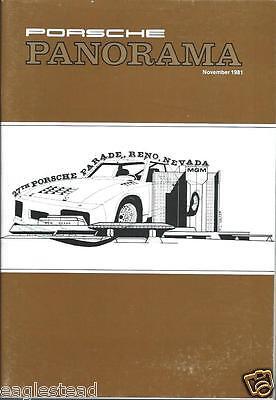 Auto Magazine - Porsche Panorama - Project 924 AL 928 911 Cabriolet 11/81 (AB529