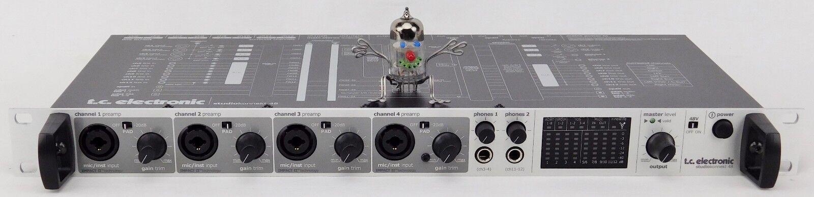 TC Electronic Studio Konnekt 48 Firewire Audio Interface Neuertig Garantie