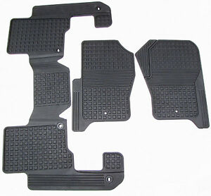 Floor Mat Floor Mats Rubber First Amp 2nd Row Set Land