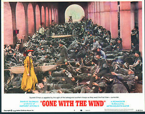 GONE WITH THE WIND original MGM lobby card # 5 VIVIEN ...