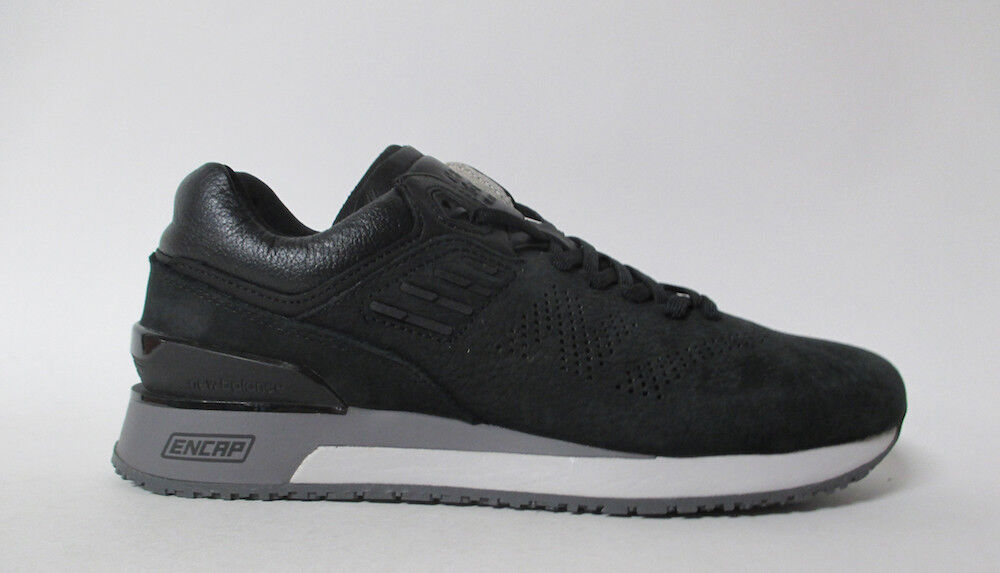 New Balance 2018 Black Leather Grey Sz 8 ML2018ML