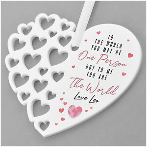 PERSONALISED-Birthday-Heart-Plaque-Gifts-for-Mummy-Mum-Nanny-Granny-New-Mummy