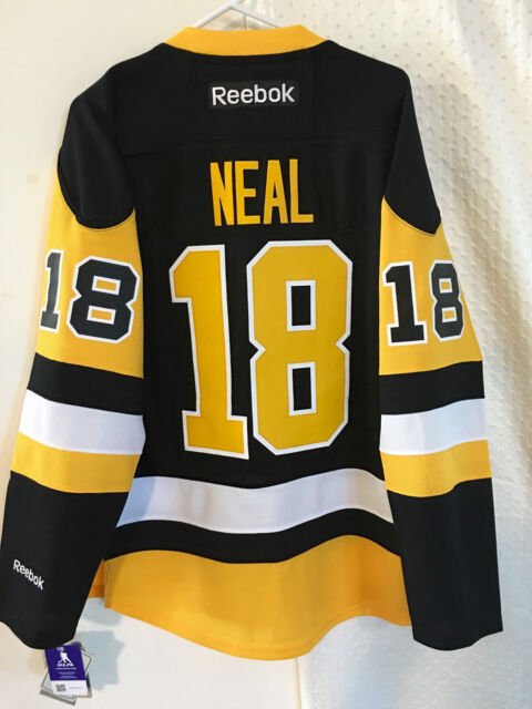 db9c45212dc Reebok Premier NHL Jersey Pittsburgh Penguins James Neal Black Alternate sz  S