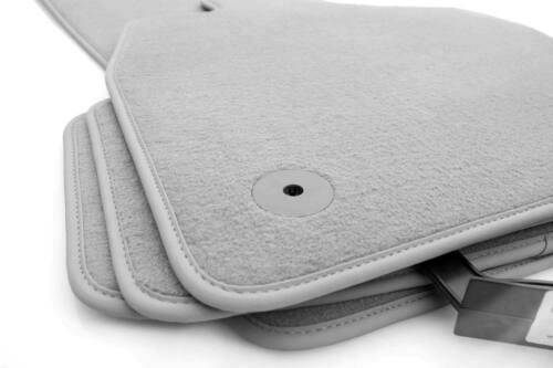 grau Automatten//Autoteppich SONDERPREIS/% NEU Audi Fußmatten A4 S4 RS4 B6 B7